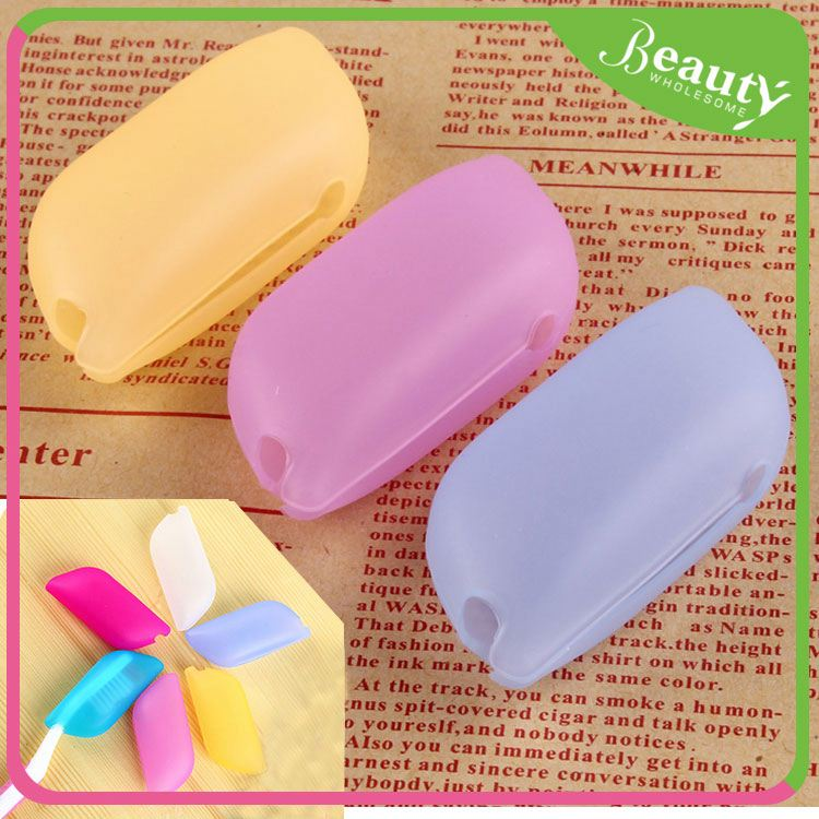 Dust avoid toothbrush head covers H0Twp plastic toothbrush case