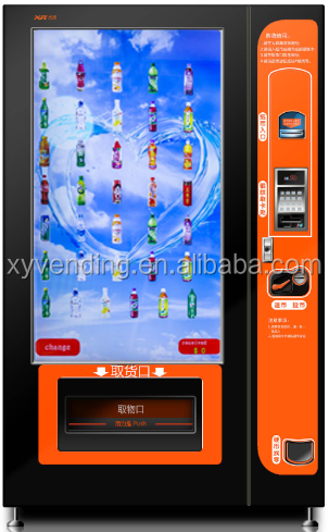 "Phone Accesories Vending Machine with 55"" Touch Screen"