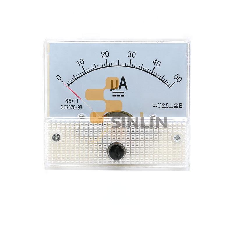 85C1-uA Panel DC 0-200uA Current Measuring Tool Analogue Meter