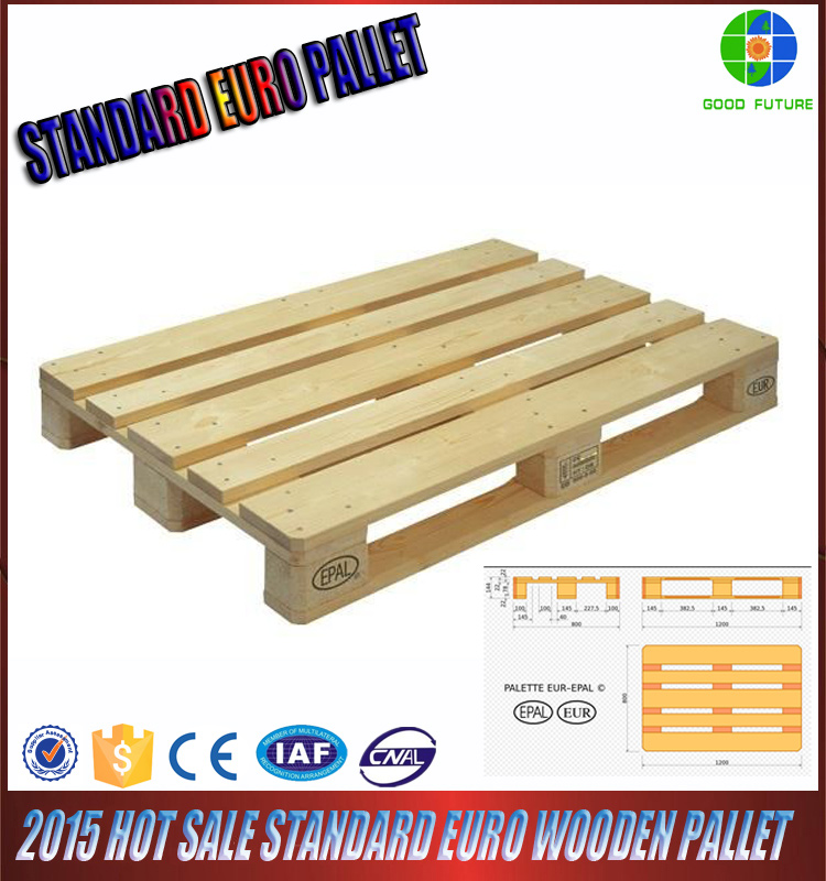 2015 HOT REAL MANUFACTURER WHOLESALE SOLID WOODEN CHEAP EURO PALLETS