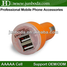 hot sale usb car charger for ipad 3/iphone 5/iphone 4