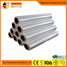 China LLDPE Stretch Film Transparent Plastic Film with Glue