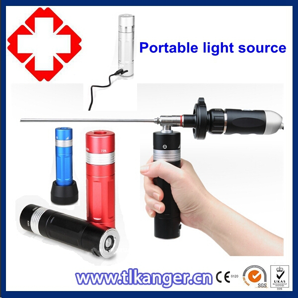 Portable cold light source/Handheld endoscope light source