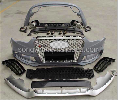 car front bumper assy for audi S5/A5 new RS5 full bodykits