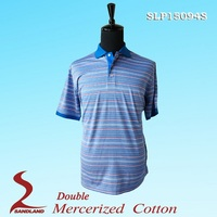 No brand double mercerized polo accept custom company logo shirt uniform