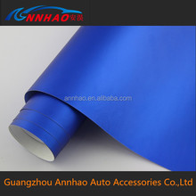 Car Decoration Accessories Chrome Stickers for Cars 1.52*20m Bubble Free Wrap Chrome Blue Car Wrap Vinyl
