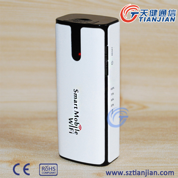 5200mAh Battery 21.6Mbps Pocket Super 3.5G Router