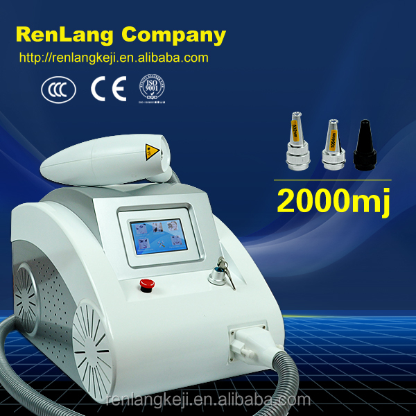 Alibaba Q Switch Nd Yag Laser / tattoo Removal Machine / laser Tattoo Removal