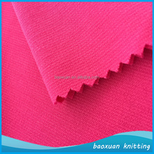 100% polyester solid ponte di roma fabric leisure suits fabric