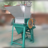 HR-CR600-03 PE PT PET plastic bottles crusher