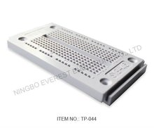 Integrated circuit, Electronic Protoboard, 270 Tie points, mini solderless breadboard, white color