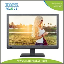 "low voltage 18.5"" computer lcd monitor 12v with tv"