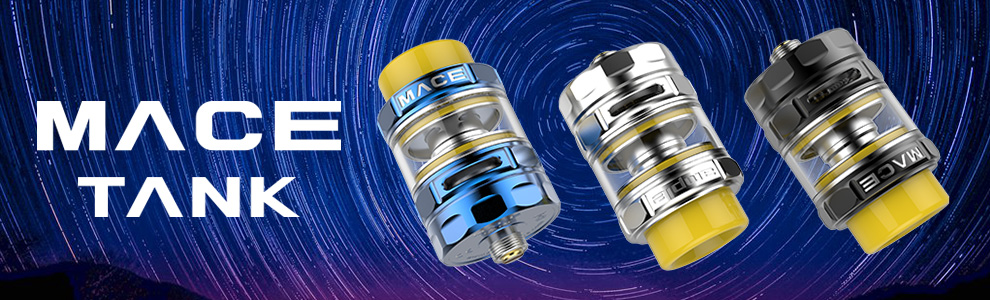 2018 Original New AHC and ADC Coils 2ml/3ml/4.5ml Ample Mace Sub Ohm Tank