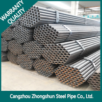 Cold Rolled Steel Pipe /Q235 Q345 Erw Carbon Steel Tube