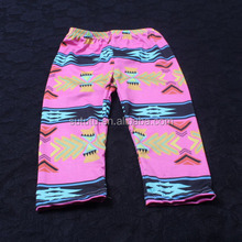 New fashionable lastest pink bottom of colours decorative pattern softtextile baby icing ruffle pants