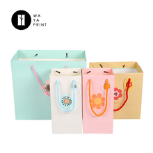 Custom company names of bags different types paper bags with handles