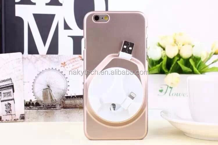 2 in 1 Date Cable Storage Case for Iphone 5S for Iphone 5S