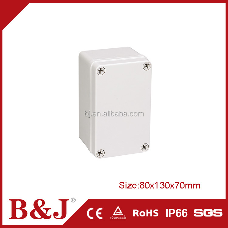 B&J High Quality 80x130x70mm Size Outdoor Waterproof Electric Energy Meter Box