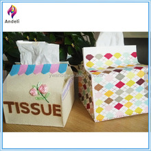 Felt craft mini tissue box,Tissue Box,tissue box cover