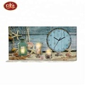 canvas wall clock for home art decor, led canvas painting for clock