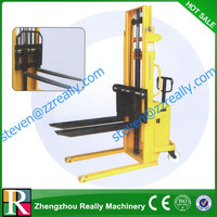 CE certified fully powered electric pallet stacker forklift