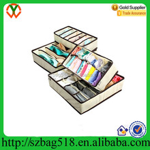Waterproof Foldable Drawer Non-Woven Organizer For Sock