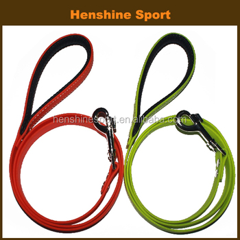 25mm neoprene dog leash soft padding