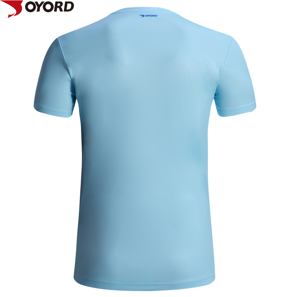Oem 100% Polyester Sublimationdri fit running T-shirt