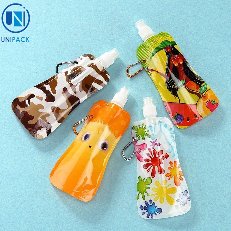 China manufacturer bpa free fold-able water energy drink packaging