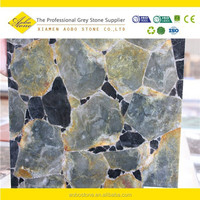 Transclucent brazil agate,light green semi precious stone