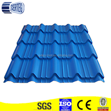 Chiina diy metal roof/steel flat roof construction decking