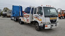 ud and nissan diesel cargo truck