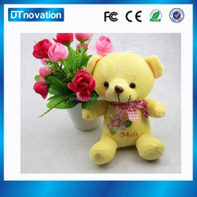 Christmas musical toy bear shape and electric plush animal toys