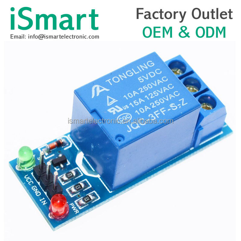 1 Channel Isolated 5V Relay Module Coupling PIC AVR DSP ARM