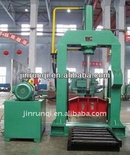 660mm rubber guillotine bailing cutter/bale cutting machine