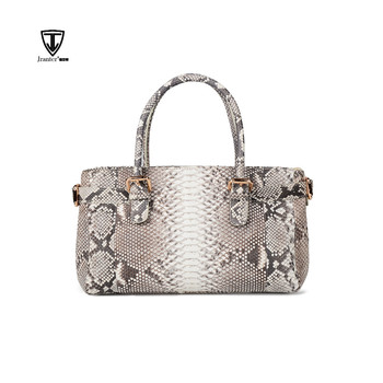 Finest Quality Real Python Skin Leather Handbag For Women