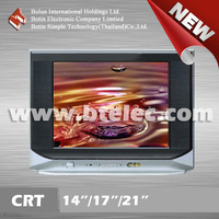 21 inch slim crt television import bulk crt monitor color tv kit