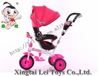 2016 new model 4 in 1 baby tricycle / Price children tricycle with canopy and rotate seat / cheap kids tricycle for sale