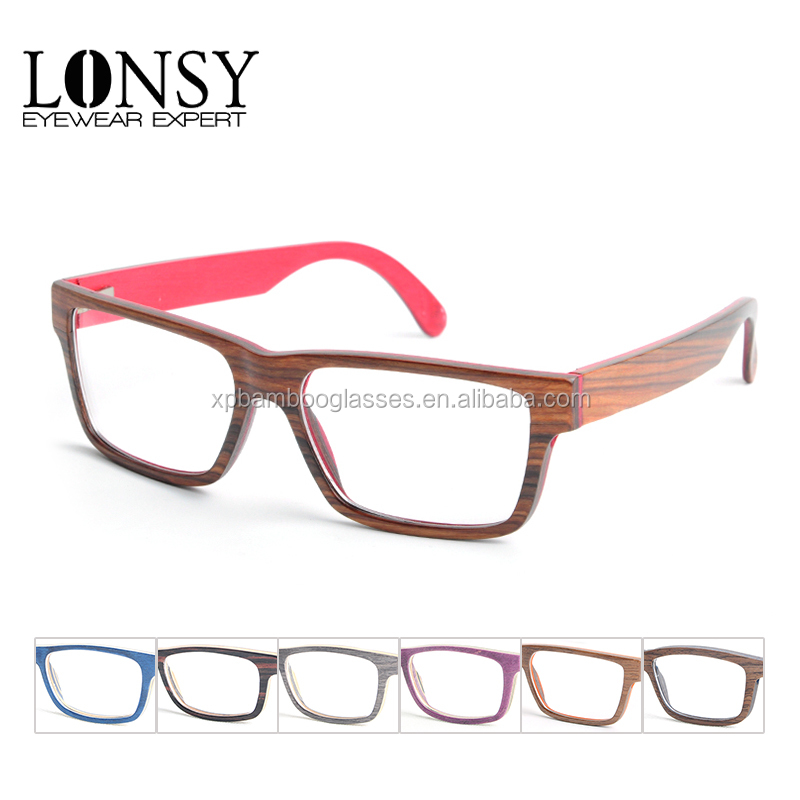 Latest Hand Made Men/Women optical frame Natural Wood Sunglasses wholesale