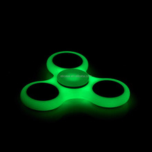Glow in The Dark Spinner Fidget Toy Plastic Hand Spinner For Pressure Relief