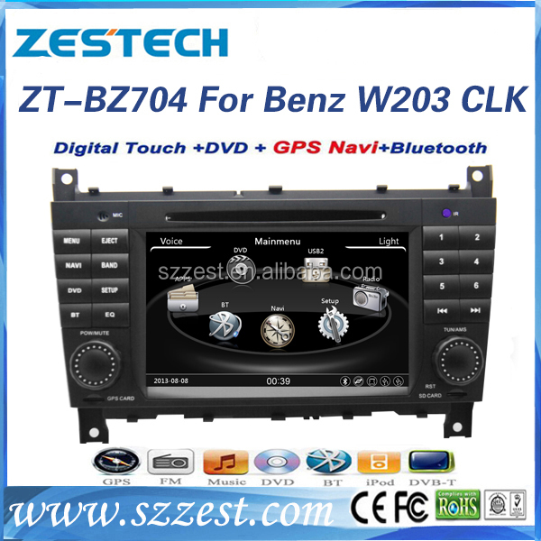 ZESTECH for mercedes benz c-class w203 2004 2005 2006 2007 parts car dvd player G-Class W467 with gps