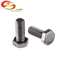 China Factory DIN933/911 grade 8.8 Hex Bolt