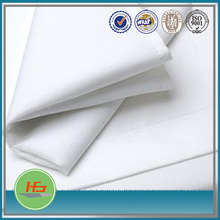 50 Cotton 50 Polyester Single Size White Twin Flat Percale Sheets