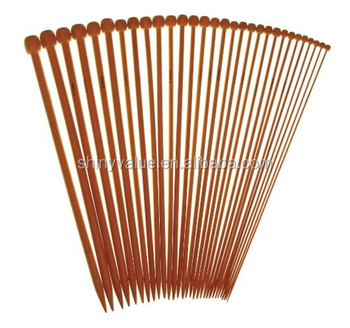Newest Design Smooth Bamboo Single & Double Point Knitting Needle Factory