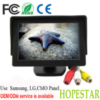 OSD button control Sunvisor 4.3 inch car lcd monitor