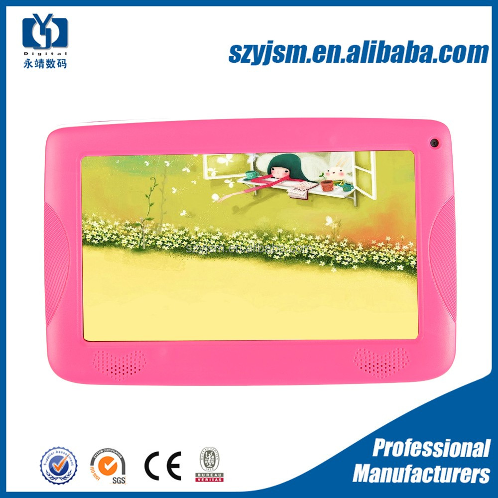 2017 new children education tablet 7'' 6-inch tablet pc, tablet pc free sample