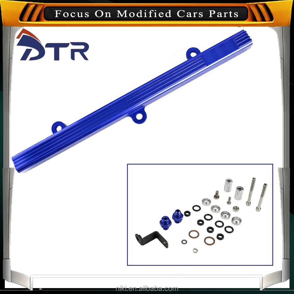 Aluminum alloy fuel track purple,New rails for fuel rails