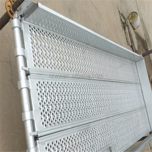 construction Steel metal plank for Ringlock scaffolding Metal board
