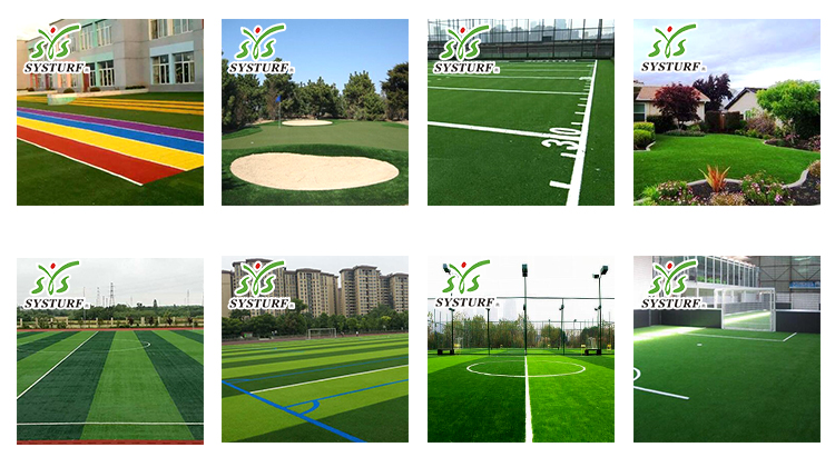 racetrack bule artificial grass