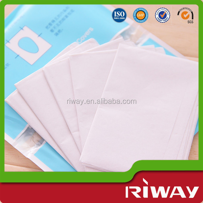 Flushable Hygienic Toilet Seat Cover Disposable Tissue